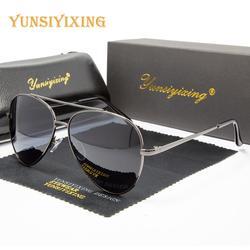 YSYX Men's Vintage Polarized Sunglasses Driver Brand Anti Blue ray Sun Glasses High Quality Eyewear UV400 Men/Women 2020 New6049