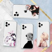 Tóquio ghoul japão suave capinhas de telefone transparente macio para iphone 5 5S 5c se 6s 7 8 11 12 plus mini x xs xr pro max
