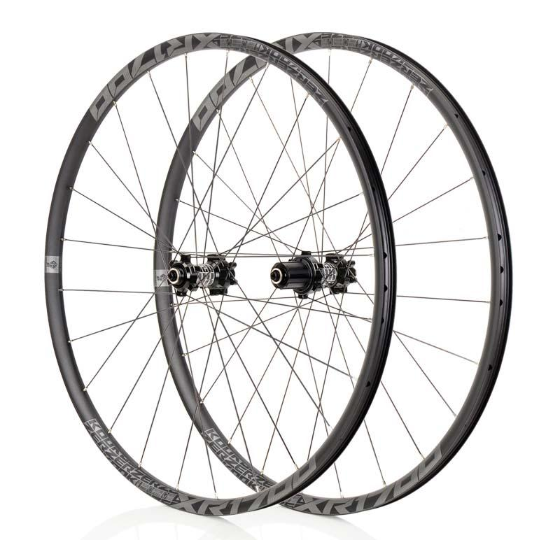 Mountain Bike Wheelset KOOZER XR1700 MTB 26 27.5inch <font><b>6</b></font> Claw Sealed Bearing QR Thru-axis Bicycle Disc Braake <font><b>Wheels</b></font> DT <font><b>Spoke</b></font> 24H image