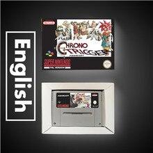 Chrono Trigger wersja EUR karta do gry RPG oszczędzanie baterii dzięki opakowanie detaliczne