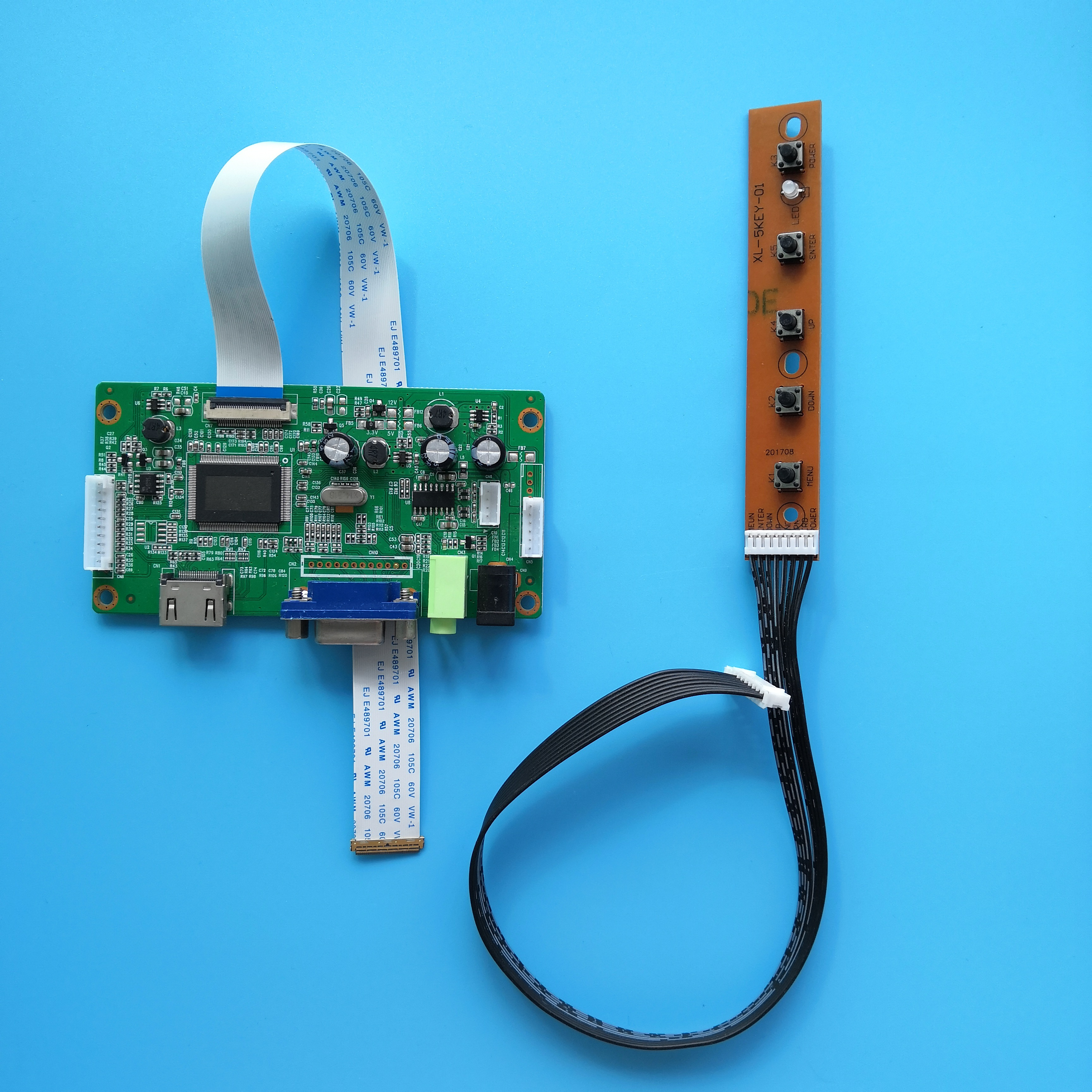 for <font><b>B156XTN07.1</b></font> 1366X768 EDP LED HDMI DIY LCD DRIVER Controller board 15.6