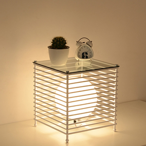 Modern Iron Cage Table Lights