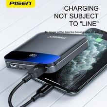 PISEN, внешний аккумулятор, 10000 мА/ч, mi ni, внешний аккумулятор типа c, портативная зарядка, повербанк для Xiaomi mi, 9, 8, iPhone