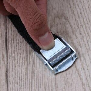 Image 5 - 6Pcs מצליף רצועות עם אבזם ניילון מהיר שחרור מצליף רצועות עבור מטענים לכבול רכב גג מתלה מטען קיאק carrier נע
