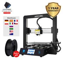 ANYCUBIC Mega-S 3d принтер апгрейд большого размера плюс металлический TFT сенсорный экран принтер 3d Высокоточный 3D Друкер