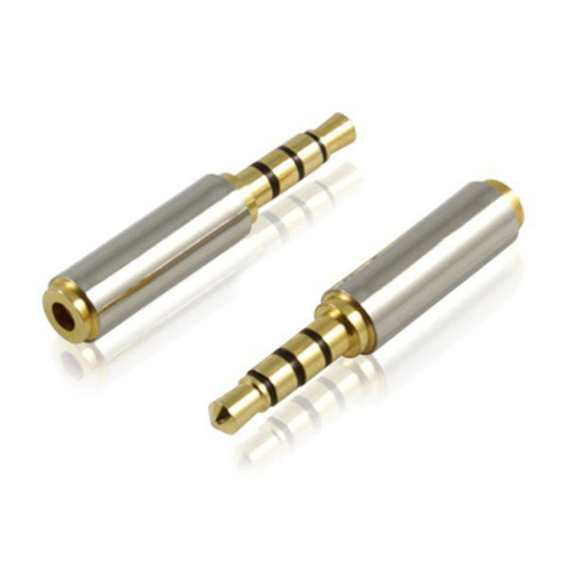 3.5mm Jack Adapter 3.5mm Male To 2.5mm Female Headphone Jack Adapter Converter