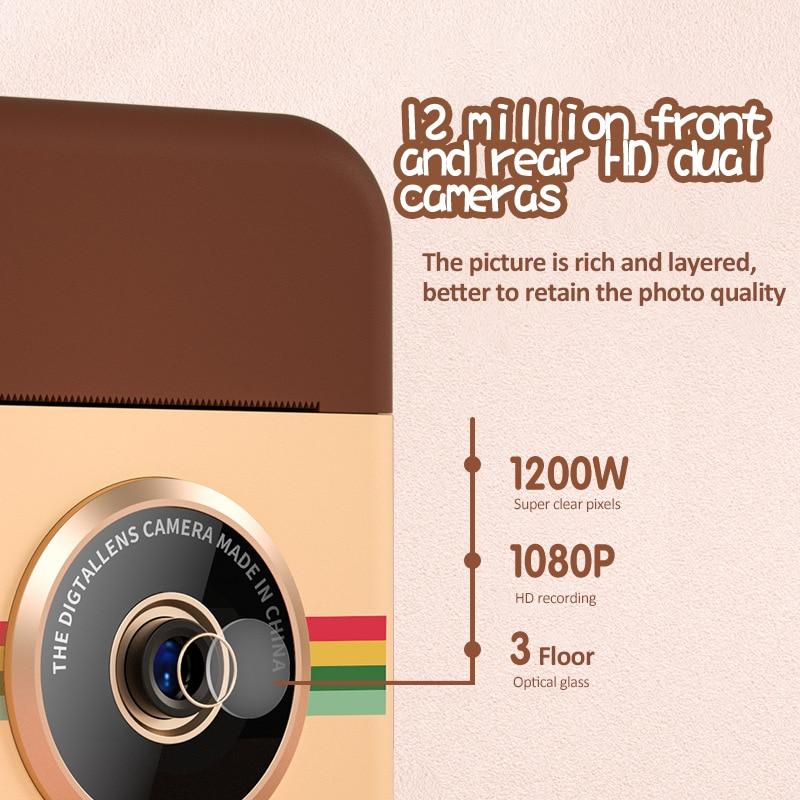 instantânea para crianças câmera digital com foto