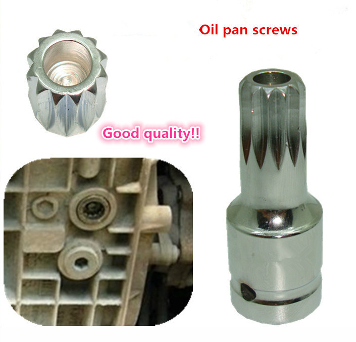 New Arrival And Good Quality! Fit For V-W  For Au-di Oil Pan Drain Plug Screw Bolt Star Tamper Proof Socket Tool M16