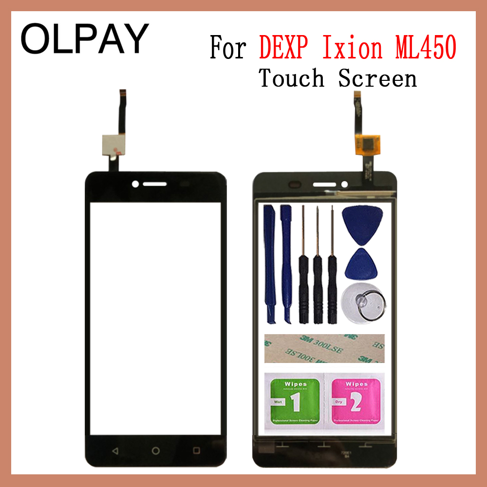 5.0'' Inch For DEXP Ixion ML450 Touch Screen Glass Digitizer Panel Lens Sensor Glass Tools Free Adhesive And Wipes