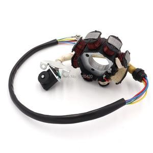Image 3 - 8 Pole Coil AC Ignition Magneto Stator for CG125 8 150cc 250cc Motocross ATV
