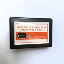 Dla m ercedes ESL ELV blokada układu kierownicy Emulator dla W204 W207 W212 kompatybilny z Abrites VVDI CGDI MB narzędzia