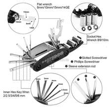 16-In-1 Screwdriver Motorcycle-Accessories Yamaha mt-125 Crf1000l-Africa Honda Fix-Tool-Cover