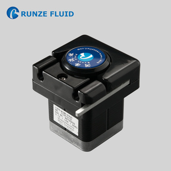 Micro Dosing Peristaltic Pump Stepping Motor 24V Input OEM Support Easy Load Cosmetic Perfume Dispensing High Accuracy in Stock