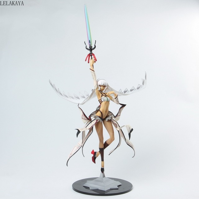 46cm Anime Fate Grand Order Saber Attila Emperor 1/8 Scale Painted Sexy Girl PVC Action Figure Illustrator by Huke Model Toys
