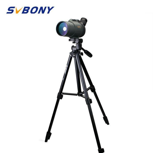 SVBONY 25 75x70 الإكتشاف نطاق ماك التكبير أحادي العين FMC طويلة المدى مقاوم للماء/عالية ترايبود للصيد مراقبة الطيور تلسكوب