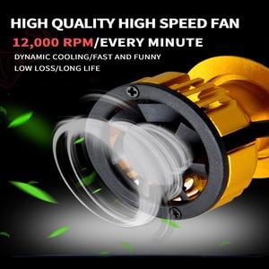 Image 4 - PANDUK LED reflektor 16000LM 4300K 6000K 9005 H1 880 H4 Led H3 H7 LED H11 Led 3000K 9006 HB3 HB4 żarówka Super jasne lampy samochodowe 12V
