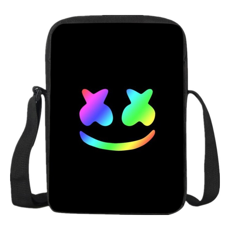 New Dj Marshmallow Bag Cosplay Costume Kids School Bags Printing Cute School Shoulder Marshmallow Backpack
