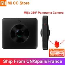 Xiaomi-cámara panorámica Mijia de 360 °, clasificación IP67, 6 ejes, EIS, WiFi, Bluetooth, 3,5 K, grabación de vídeo, batería de 1600mAh, Kit de cámara esférica