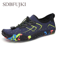 Non-slip Water Sports Breathable Men Women Beach Shoes Unisex Aqua Flat Soft Walking Lover yoga Swimming