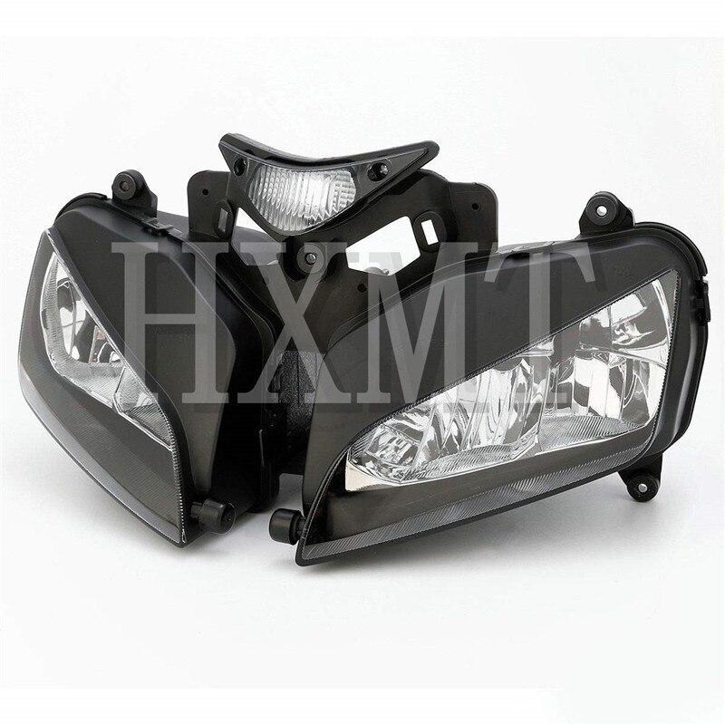 Для Honda CBR1000RR 2004 2005 2006 2007 CBR 1000RR передние фары для мотоцикла головной свет Лампа фара в сборке CBR 1000 RR