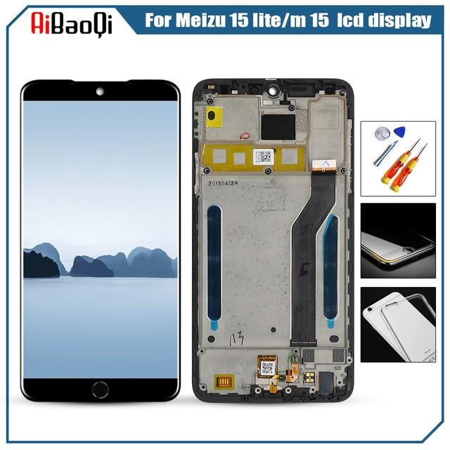 Für Original MEIZU M15 LCD screen display + Touch screen digitizer für Für Meizu 15 lite M871H lcd display bildschirm