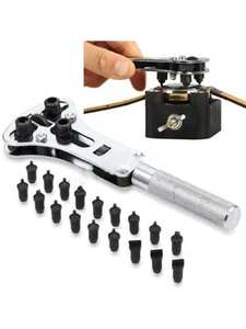 Case Opener Wrench Watch Watch-Repair-Tools-Kit Back-Remover Adjustable Screw