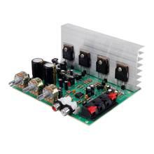CLAITE 80W + 80W DX 206 hoparlör amplifikatör kurulu 2.0 Stereo yüksek güç DIY hoparlör amplifikatör kurulu 4558 OP AMP AC15 22V