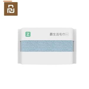 Image 1 - 2 ألوان Youpin ZSH منشفة سلسلة الهواء منشفة الكبار غسل منشفة القطن المنزلية لينة وسهلة لتجفيف المناشف