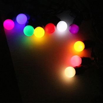 1pcs 4 Colors High-quality Led Bulb 3W Safe Bulb Wall Lamp Chandelier Bright Light Source Christmas Tree Decoration Bulb Install image