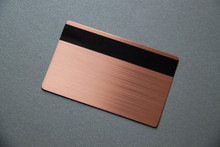 gold metal card ustom laser engraved 100pcs/lot high-end id free shipping