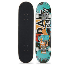 Ahorn Skateboard Vier-Rad Roller Doppel Rocker Professionelle Longboards Extreme Sport Player Skate Bord 79x20cm(China)