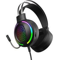 Cuffie da gioco Gamer 7.1 Surround Sound cuffie RGB Light per Ps4/xbox One (vecchio)/nintendo Switch/laptop/Computer/smartphone