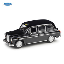 WELLY 1:24  London taxi simulation alloy car model crafts decoration collection toy tools gift