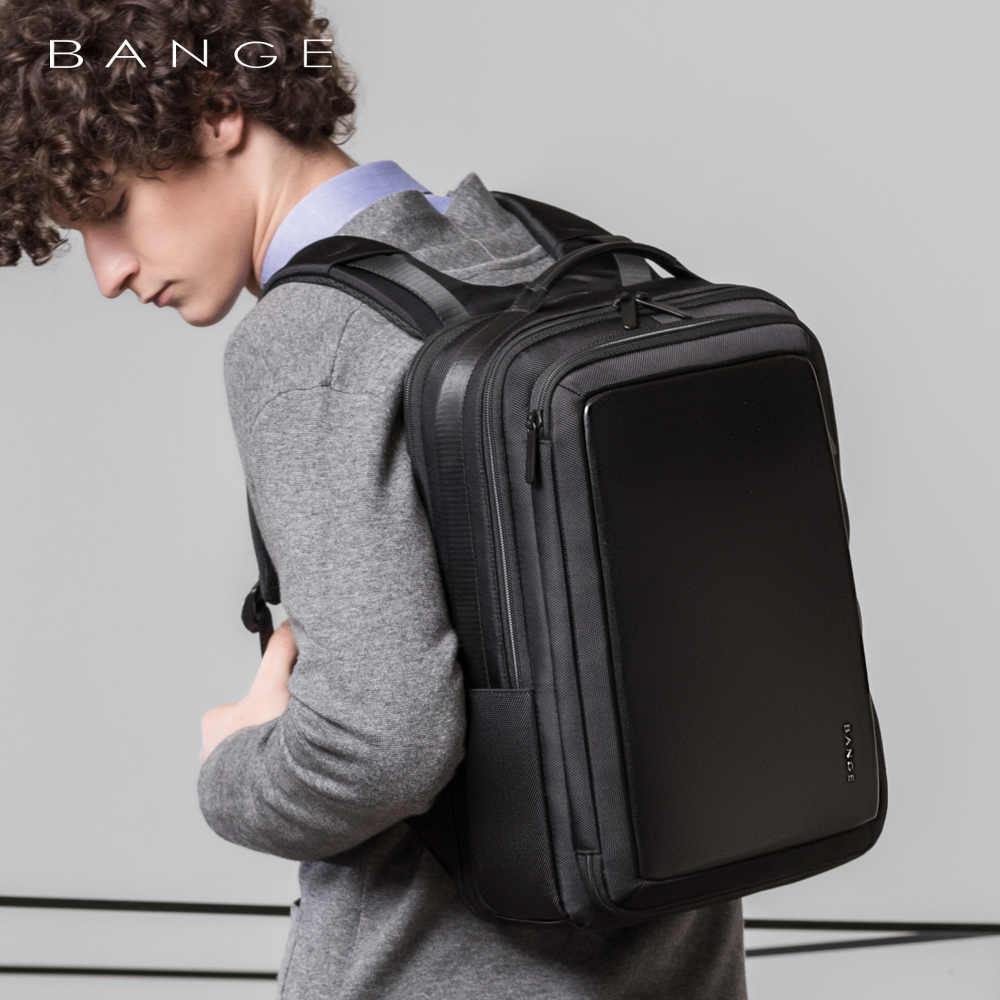 New Large Capacity Men 15.6 inch Laptop Backpack Expandable Travel Bag Male Waterproof Anti theft Business Backpack for Men