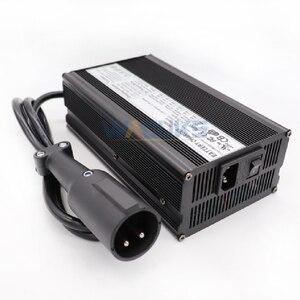 Image 3 - 48V 10A Ladegerät 48V 10 Amp Blei Säure Batterie Ladegerät Für 48V Club auto Golf warenkorb Ausgang 55,2 V