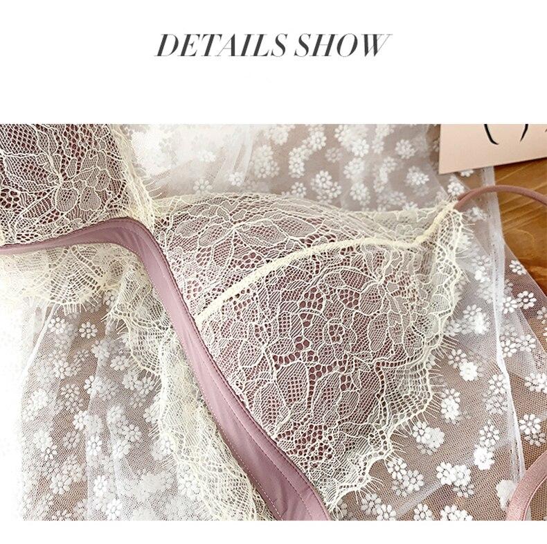 H63bf22bcd0b74aa3999f61b8cf2f07753 Sexy New Ladies Underwear Lace Bra Set Eyelash Lingerie Women's Push Up Bralette Comfortable Bra and Panty Set Luxury Intimates