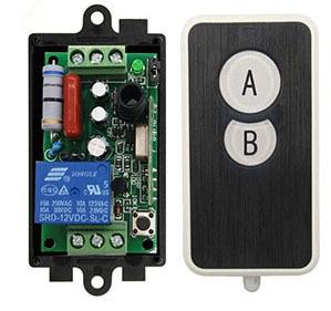 Image 3 - AC 220 V 1 kanal 1CH 10A radyo kontrol RF kablosuz röle uzaktan kumanda anahtarı 315 MHZ 433 MHZ verici + alıcı
