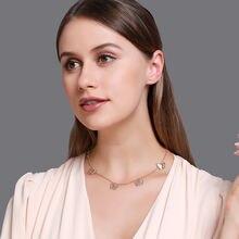 Бабочка вечерние кулон Цепочки и ожерелья для Для женщин модные