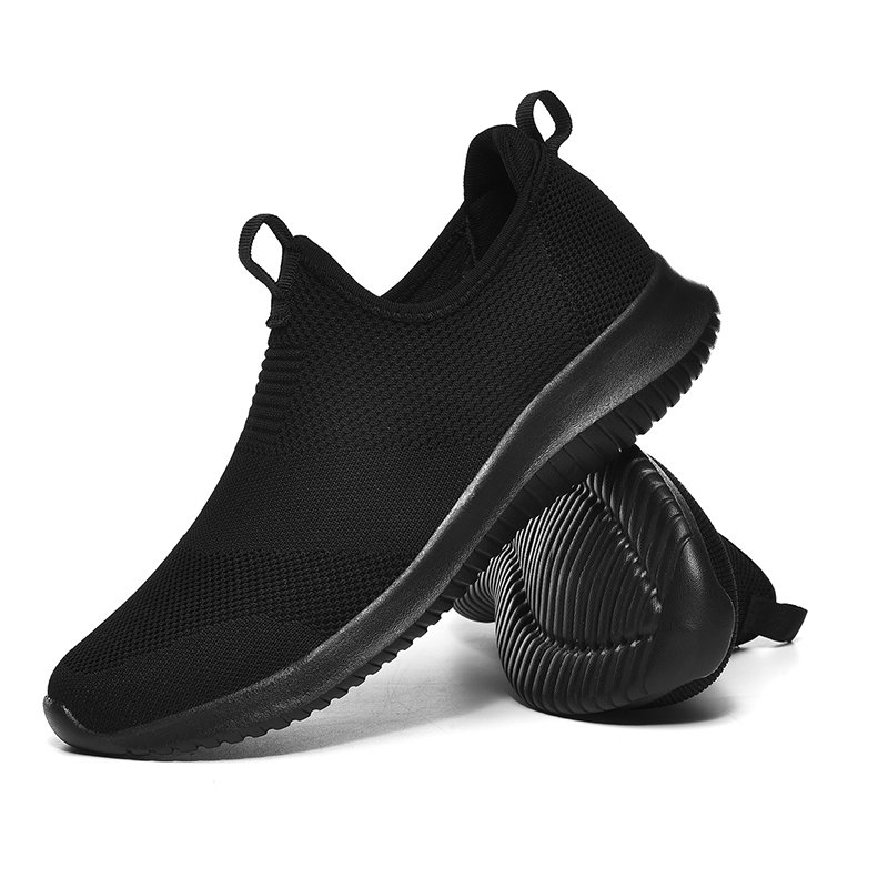 REETENE 2019 Slip On Men Casual Shoes Men Sneakers Summer Running Shoes For Men Lightweight Mesh Shoes Male Big Sizes 36-48 6