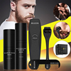 4 Pcs/set Barbe Beard Growth Kit Hair Growth Enhancer Thicker Oil Nourishing Essence Leave-in Conditioner Beard Care with Comb 1