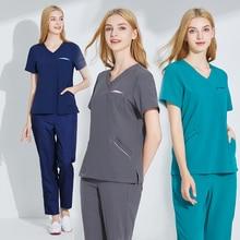 Hospital men and women wash clothes brush hands wear nurses wear doctors wear surgery suit cosmetic plastic mouth uniform