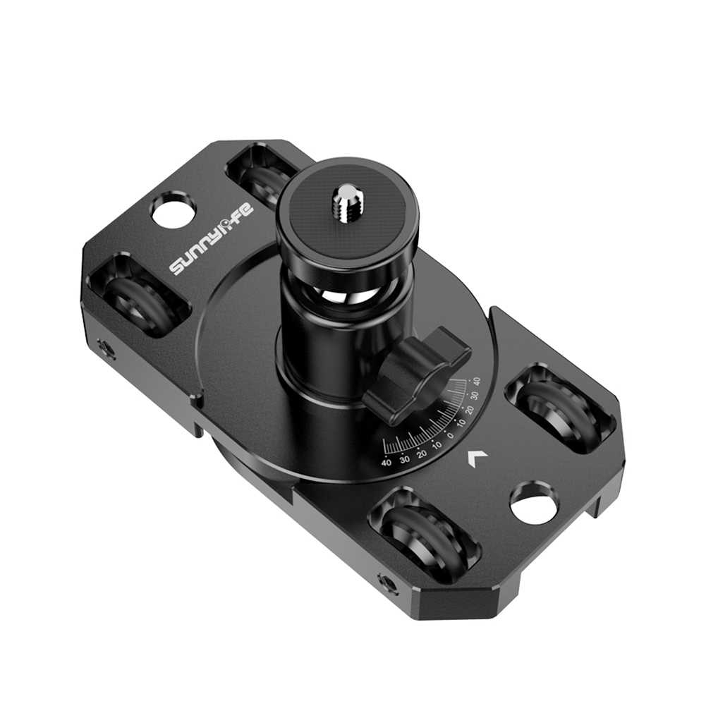 Mini Desktop Action Camera Dolly with Ball Head for GoPro for DJI OSMO Action Pocket for Insta360 ONE R for Fimi Palm