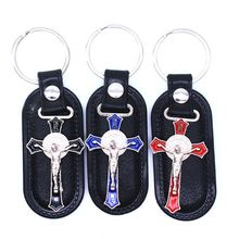 Keychain Jesus for Women Pendant Jewelry-Bag Souvenirs Key-Ring Gift Car Christian Religious