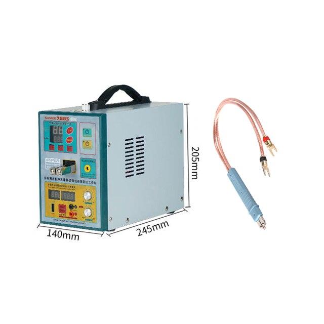 PRO soudeuse par points MACHINE de soudage par batterie 3.2KW avec stylo de soudage par points 71A SUNNKKO 788S 110V/220V