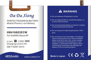 Image 4 - דה דה Xiong 4850mAh HB416683ECW סוללה עבור Huawei Google Ascend נקסוס 6P H1511 H1512