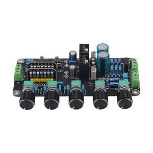 Image 2 - AIYIMA 프리 앰프 톤 보드 UPC4570C OP 앰프 스테레오 프리 앰프 볼륨 톤 컨트롤 Super OPA2604 AD827JN (LM317 + LM337 회로 포함)