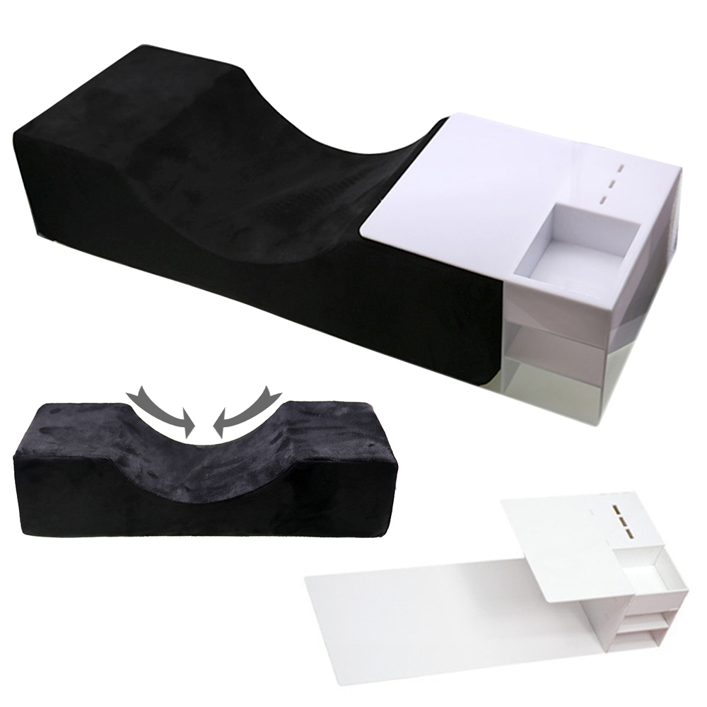 Lash Pillow For Eyelash Extensions Grafting Eyelash Neck Pillow Memory Pillows For Makeup Salon Use Grafting Eyelashes Support