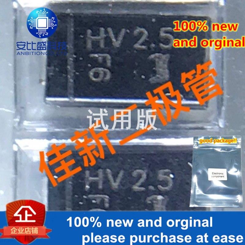 10-20pcs 100% New And Orginal HV2.5SMA 2500V Ultra High Voltage Rectifier Diode DO214AC Silk Screen HV25