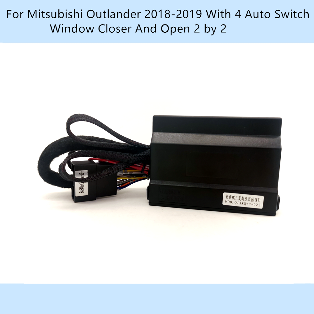 Update Car Automatically Power Window Closer Closing Open 2 By 2 Kit For Mitsubishi Outlander 2018-2