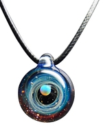 Galaxy Universe Space Starlike Glass Dome Photo Necklace For Women 2018 Fashion Jewelry Dress Necklace